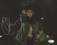 """Olivia Munn Signed """"The Predator"""" 8x10 Photo (JSA COA)"""