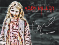 "Addy Miller Signed ""The Walking Dead"" 11x14 Photo Inscribed ""1st Walker"" (JSA COA)"