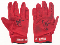Joey Votto Signed Pair of Franklin Batting Gloves (Beckett COA)