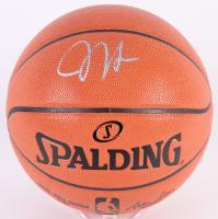 James Harden Signed Game Ball Series Basketball (Beckett COA)