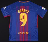 Luis Suarez Signed Barcelona Nike Jersey (Beckett COA)