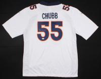 Bradley Chubb Signed Broncos Jersey (JSA COA) (Imperfect)