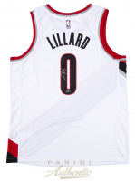 Damian Lillard Signed Portland Trail Blazers Nike Jersey (Panini COA) at PristineAuction.com