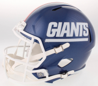 "Lawrence Taylor Signed New York Giants Full-Size Speed Helmet Insribed ""LT Was A Bad 'M***********'"" (TriStar Hologram) at PristineAuction.com"