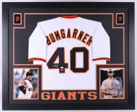 Madison Bumgarner Signed Giants 35x43 Custom Framed Jersey (JSA COA & LOJO Hologram)