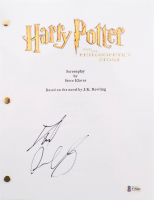 "Daniel Radcliffe Signed ""Harry Potter and the Philosopher's Stone"" Full Movie Script (Beckett COA)"