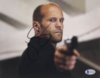 "Jason Statham ""The Mechanic"" Signed 8x10 Photo (Beckett COA)"