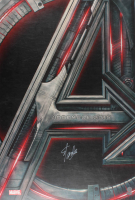 "Stan Lee Signed ""Avengers: Age of Ultron"" 27x40 Movie Poster (Radtke COA & Lee Hologram) (Imperfect)"