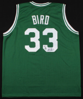 Larry Bird Signed Celtics Jersey (Beckett COA & Bird Hologram)