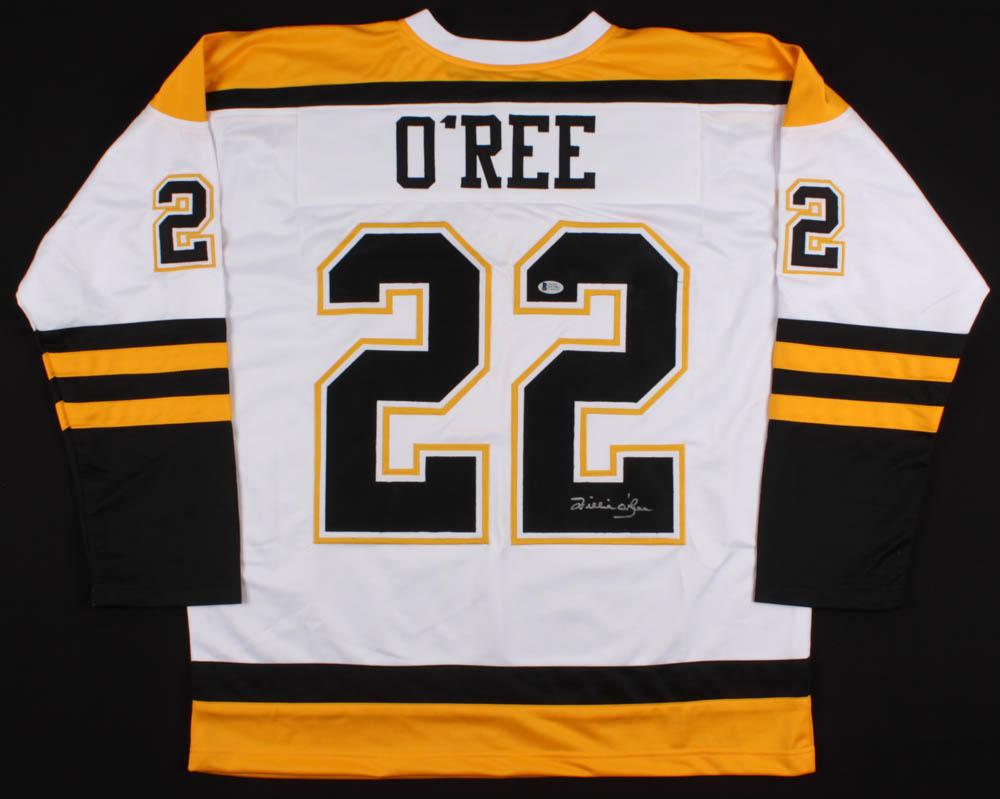 Willie O'Ree Signed Bruins Jersey (Beckett COA) | Pristine ...