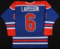 Adam Larsson Signed Jersey (Beckett COA) at PristineAuction.com