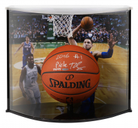 "Ben Simmons Signed Philadelphia 76ers Limited Edition NBA Official Game Ball Inscribed ""2016 #1 Pick"" with Curve Display Case (UDA COA)"