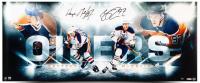 "Wayne Gretzky & Connor McDavid Signed Oilers ""Bright Lights"" 15x36 Limited Edition Photo (UDA COA)"