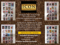 ICON AUTHENTIC  20X DIAMOND MYSTERY BOX Series 2 - 20 Cards / Hits per Box at PristineAuction.com