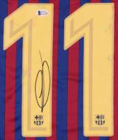 Ousmane Dembele Signed Barcelona Jersey (Beckett COA) (See Description) at PristineAuction.com