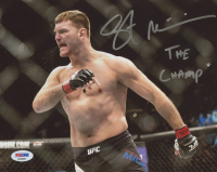 "Stipe Miocic Signed UFC 8x10 Photo Inscribed ""THE CHAMP"" (PSA COA)"