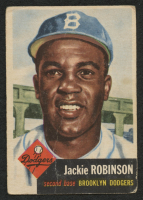 1953 Topps #1 Jackie Robinson