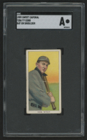 1909-11 T206 #96 Ty Cobb / Bat on Shoulder (SGC Authentic) at PristineAuction.com