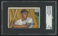 1951 Bowman #305 Willie Mays RC (SGC 4.5)
