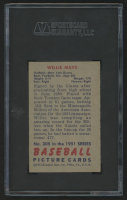 1951 Bowman #305 Willie Mays RC (SGC 4.5) at PristineAuction.com