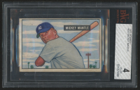 1951 Bowman #253 Mickey Mantle RC (BVG 4)