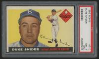 1955 Topps #210 Duke Snider (PSA 7) (OC)