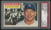 1956 Topps #135 Mickey Mantle (PSA 8) (MC)