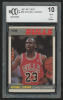 1987-88 Fleer #59 Michael Jordan ! (BCCG 10)