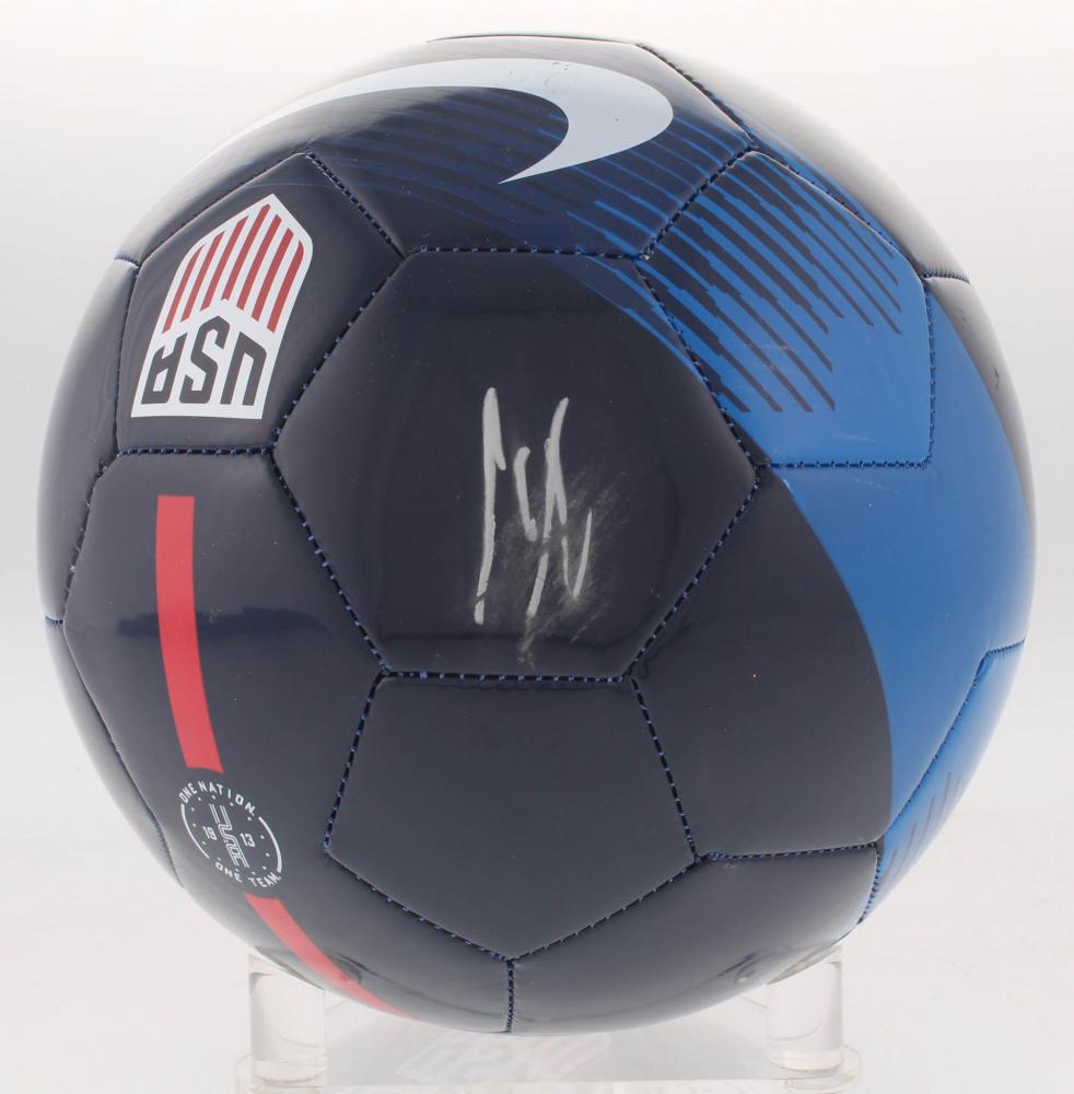 e2353067bf8 Clint Dempsey Signed USA Logo Soccer Ball (Beckett Hologram) at  PristineAuction.com