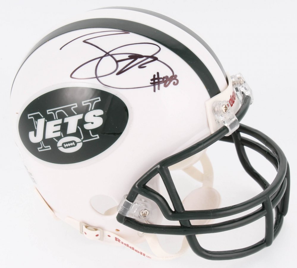 Jace Amaro Signed Jets Mini Helmet (JSA COA) at PristineAuction.com a94e58905