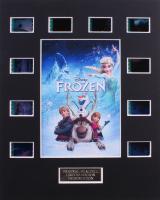 """Frozen"" 8x10 Custom Matted Original Film Cell Display"