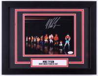 "Mike Tyson Signed ""Nintendo Punch Out"" 14x18 Custom Framed Print Display (JSA COA)"