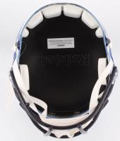 John Elway Signed Broncos Full-Size Chrome Speed Helmet (Beckett COA) at PristineAuction.com