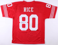 Jerry Rice Signed San Francisco 49ers Jersey (PSA COA) at PristineAuction.com