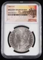 1884-O $1 Morgan Silver Dollar (NGC Brilliant Uncirculated)