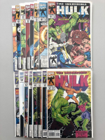 Lot of (148) Marvel Incredible Hulk 1962-1999 First Series Comic Books