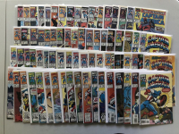 Lot of (173) Marvel Captain America 1st, 2nd & 3rd Volume Comic Books