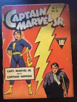 1942 Captain Marvel Jr. #2 Golden Age Comic Book at PristineAuction.com