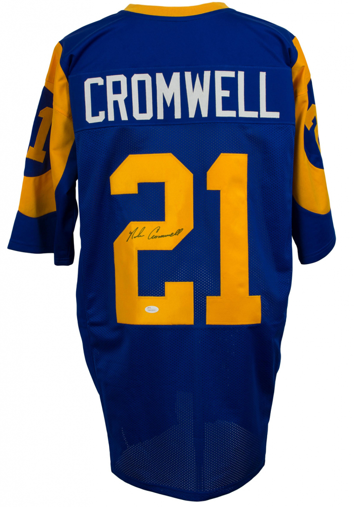 Nolan Cromwell Signed Los Angeles Rams Jersey (JSA COA) at  PristineAuction.com 069849dd9