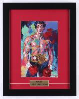 "LeRoy Neiman ""Rocky"" 13x16.5 Custom Framed Print Display"