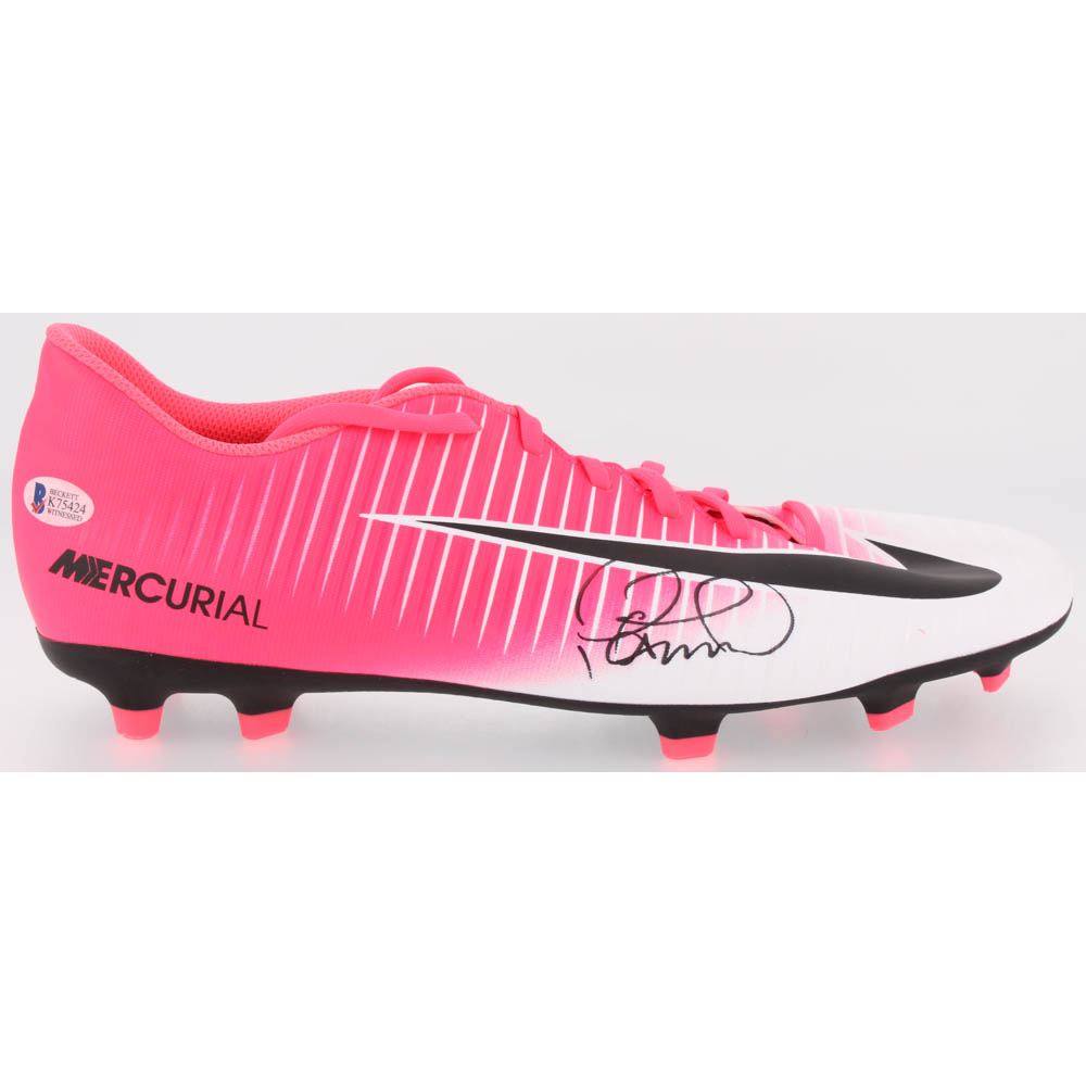 2267cc047fd Philippe Coutinho Signed Nike Mercurial Soccer Cleat (Beckett COA)