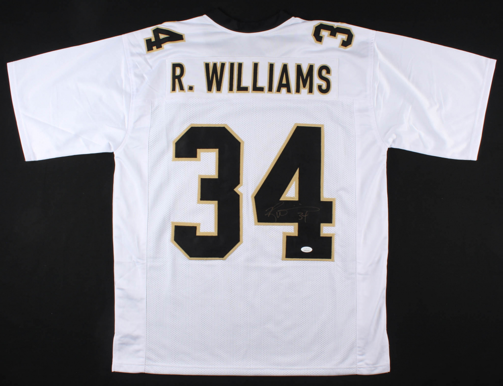eb51806a7 Ricky Williams Signed Saints Jersey (JSA COA) at PristineAuction.com