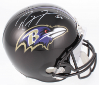 Ray Lewis Signed Ravens Full-Size Helmet (JSA COA) at PristineAuction.com