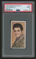 "1963 Mister Softee's ""Top 20"" #12 Elvis Presley (PSA 9)"