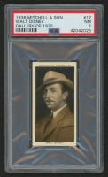 "1936 Mitchell's ""Gallery of 1935"" #17 Walt Disney (PSA 7)"