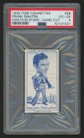 "1949 Turf Cigarettes ""Famous Film Stars"" #38 Frank Sinatra (PSA 4)"