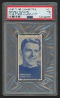 "1947 Turf Cigarettes #27 Ronald Reagan Notre Dame ""The Gipper"" Film Stars (PSA 3)"