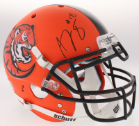 A. J. Green Signed Bengals Full-Size Custom Matte Orange Authentic On-Field Helmet (JSA COA)