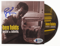 """Ben Folds Signed """"Rockin' The Suburbs"""" CD Booklet (Beckett COA) at PristineAuction.com"""