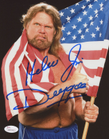 """Hacksaw"" Jim Duggan Signed WWE 8x10 Photo (JSA COA)"